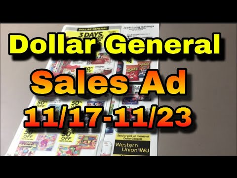 Dollar General Sale Ad Preview 11/17-11/23 | DG Deals | Digital Coupons | How to Save Money