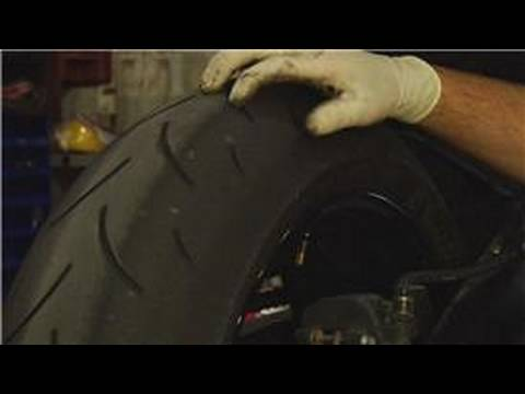 Motorcycle Maintenance Guide : How to Check Motorcycle Tires