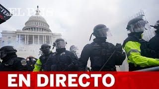 DIRECTO EE UU | Protestas fuera del Capitolio