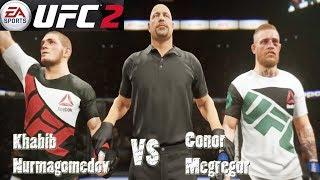 EA Sports UFC 3 Fights - Conor McGregor vs Khabib Nurmagomedov   PS4 Pro Gameplay 2019