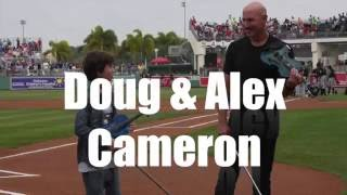 Doug & Alex Cameron National Anthem