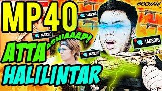 BORONG MP40 ATTA HALILINTAR RATAIN SOLO RANKED PELURUNYA ANTI ABIS!! - Free Fire Indonesia #142