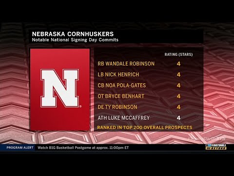 Signing Day Highlights: Breaking Down the Huskers 2019 Commits | Nebraska | Big Ten Football