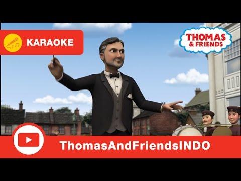 Kereta Thomas & Friends Indonesia: Karaoke - The Whistle Song
