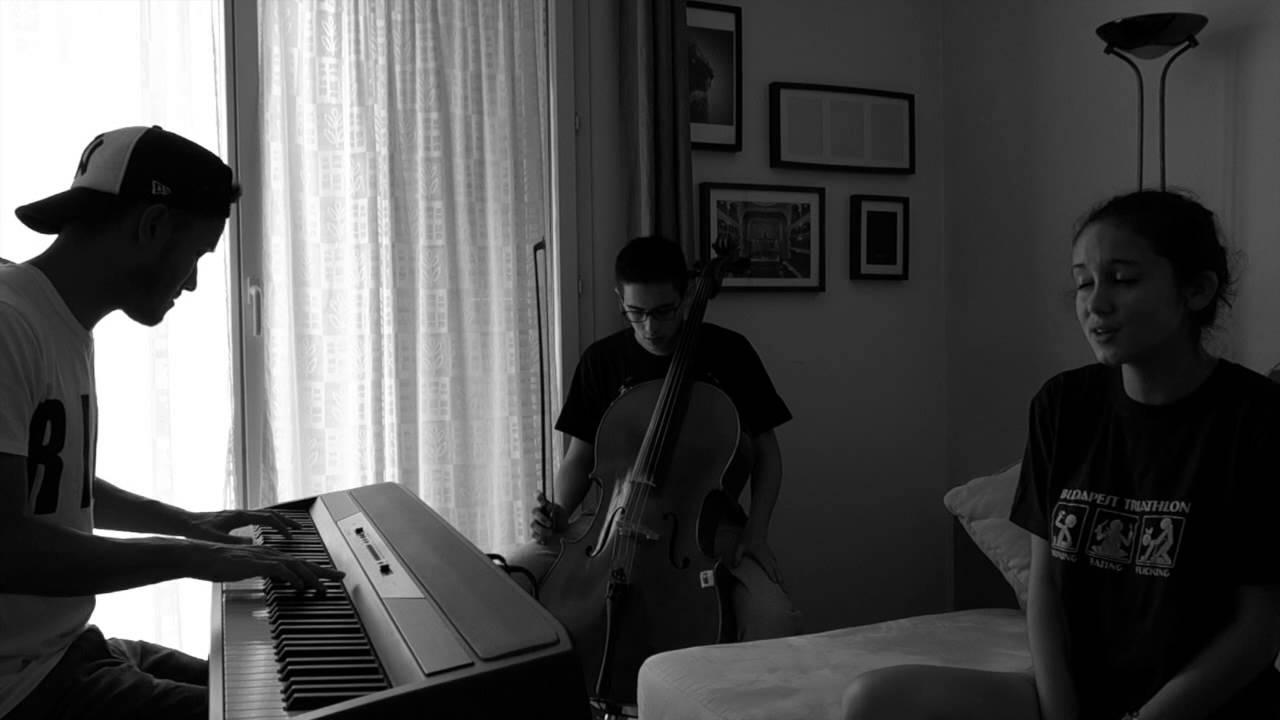 Sia - Chandelier - Cover Piano Cello Voice - YouTube