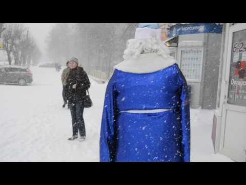 Дед Мороз в Кирове 20 апреля