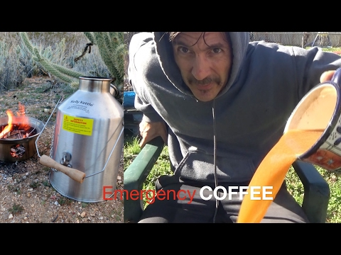 Christian Prepping 2017  Off the Grid SURVIVAL Coffee FAIL!