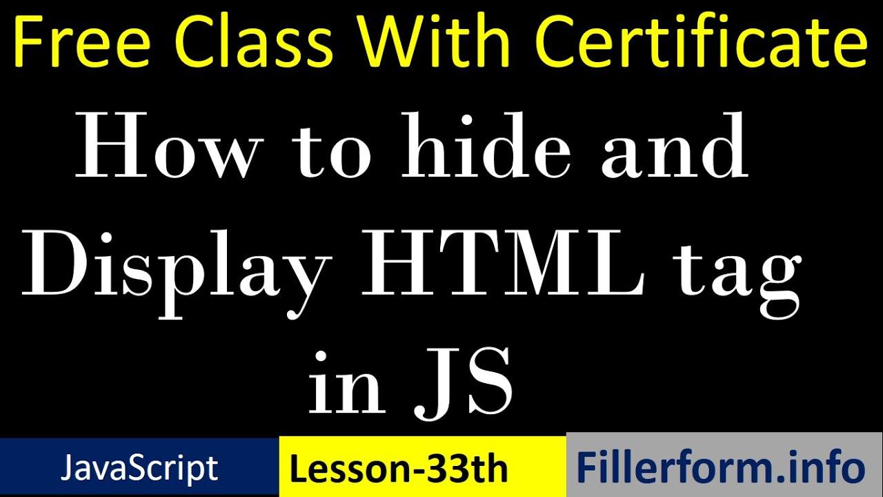 33th Class- Javascript tutorial in hindi  javascript full course  best free javascript course