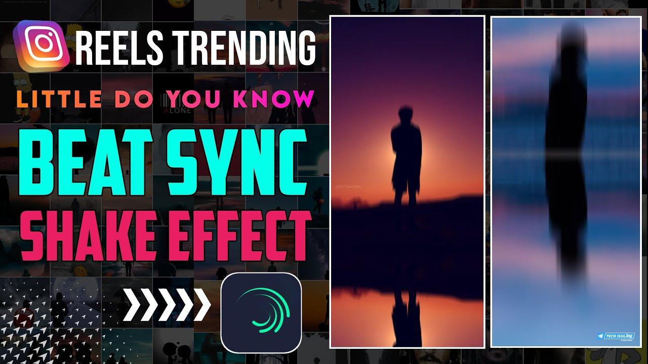 Instagram Reels Trending Beat Sync Shake Effect Video Editing | Shake Effect Video Editing In Tamil
