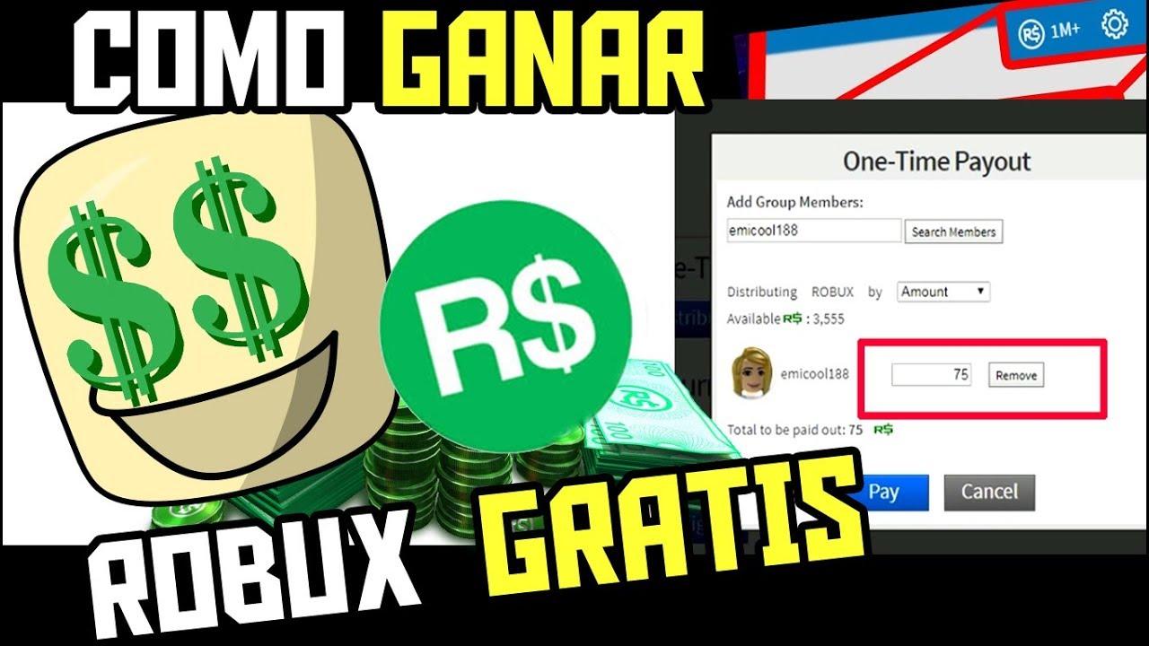 COMO TENER ROBUX GRATIS EN ROBLOX - YouTube