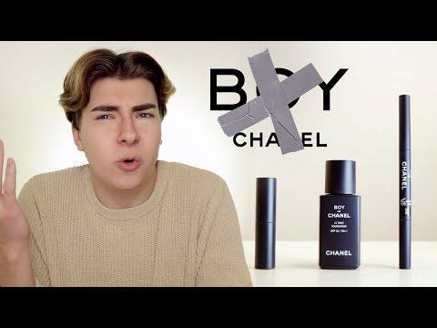 63dc04a2bb CHANEL makeup for men got my A$$ burning | Testing Boy De Chanel ...