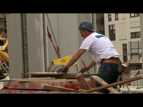 Fortschritt auf der Campus-Baustelle in Leipzig