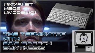 Baixar The Terminator with 80s Speech Synthesis - Atari ST | Nostalgia Nerd