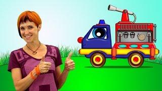 Мультики для малышей. Маша Капуки Кануки и пожарная машина Пома