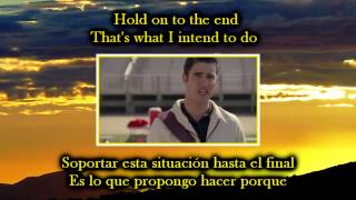 Glee - Hopelessly devoted to you / Sub spanish with lyrics