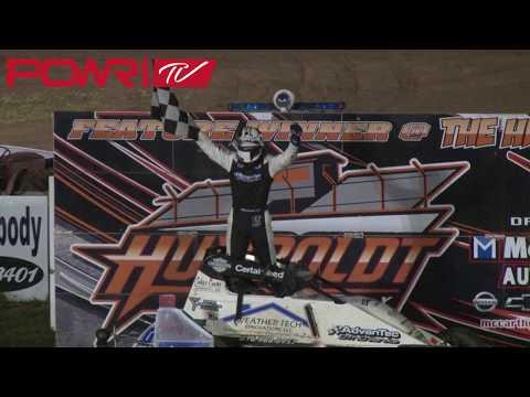 8/25/18 POWRi Lucas Oil WAR Sprint Car League at Humboldt Speedway