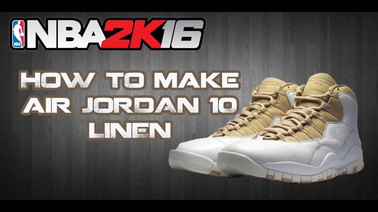 NBA 2K16 CUSTOM SHOES