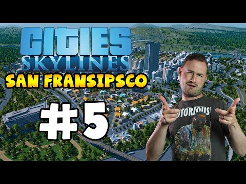 Sips Plays Cities Skylines (20/4/2018) #5 - Cable Cars