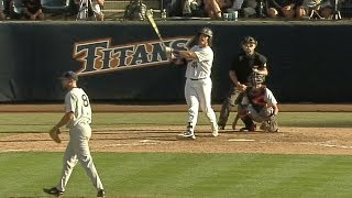 Highlights: Washington baseball unable to close out Fullerton, headed to decisive Game 3