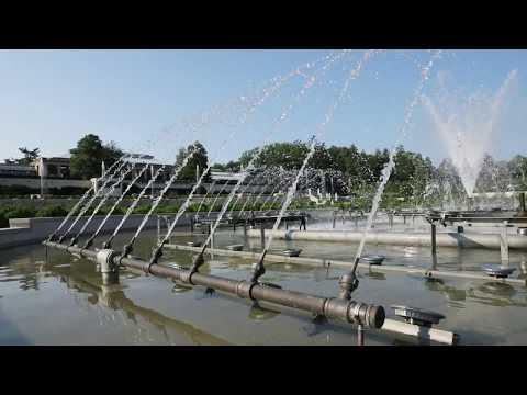 Longwood Gardens' Main Fountain Garden Timelapse