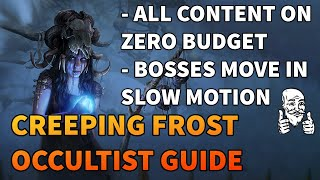 CREEPING FROST OCCULTIST - Most UNDERRATED Cold Skill In The Game? - Path of Exile 3.11 Harvest
