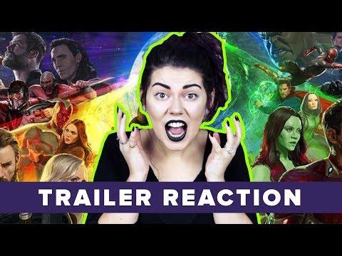Infinity War TRAILER REACTION!