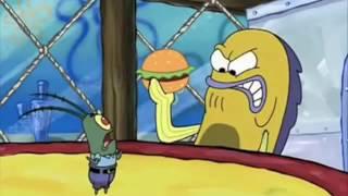 Plankton Serves Burger King Foot lettuce