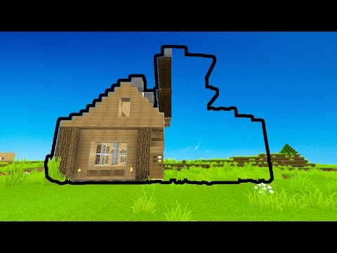 SLOWLY TURNING A PLAYERS HOUSE INVISIBLE! (Minecraft Trolling)