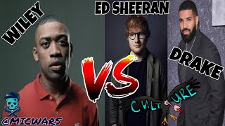 Wiley interview with A Dot on 1Xtra going at Drake and Ed Sheeran!