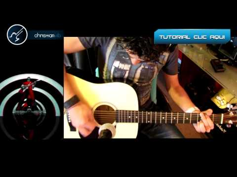 Seven Nation Army Acoustic Cover Guitar Tutorial