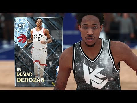 DIAMOND DEMAR DEROZAN GAMEPLAY!! ANKLE BREAKER! (NBA 2K18 MYTEAM)
