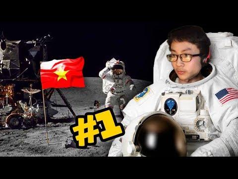 Người VIỆT NAM Đầu Tiên Lên Vũ Trụ ! - Kerbal Space Program