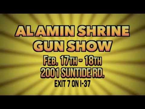 Al Amin Shrine Gun Show February 2018