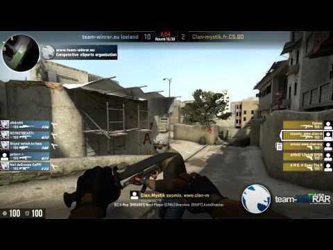 CS:GO| Team-winrar.eu ICELAND Vs. Clan-Mystik