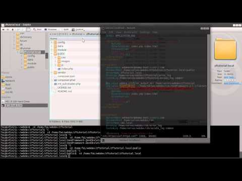 Zend Framework 2 1 tutorial 1: Skeleton App - YouTube
