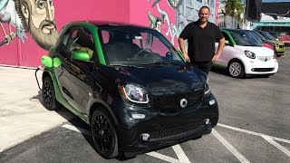 smart for two Electric Drive Test - Fahrbericht & Review Elektro-Smart 2017