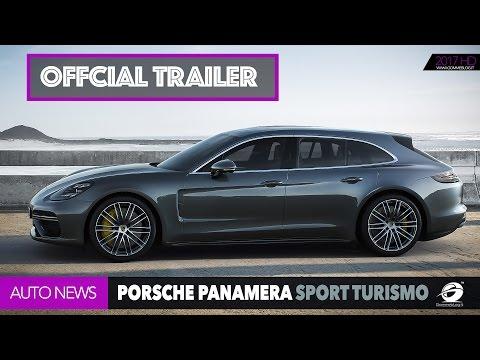 Porsche Panamera Sport Turismo - OFFICIAL TRAILER