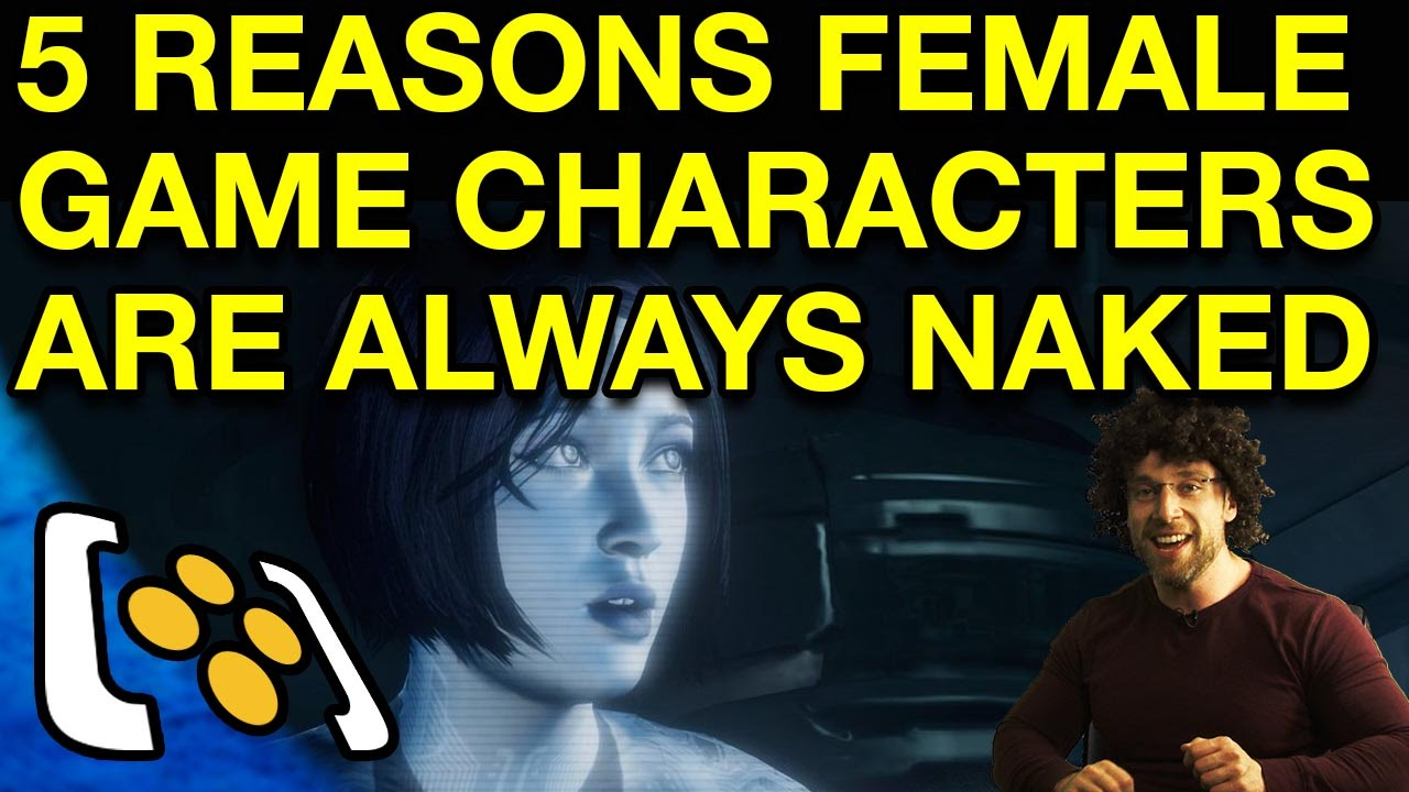 naked girl video game characters