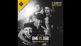 BMG vs Die Gebrüder Brett @ Inurfase Bootshaus Köln 07.12.2018