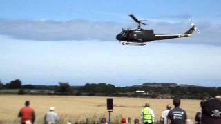 HUEY 509 IN ACTION at East Fortune Air Show 2011