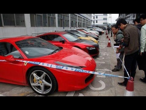 Street Racing in China Turned Seizure Of 12 Supercars