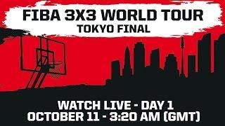 Tokyo Final - Day 1 - 2014 FIBA 3x3 World Tour