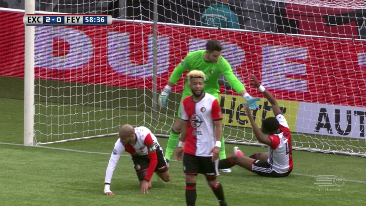 highlights i excelsior 3 0 feyenoord