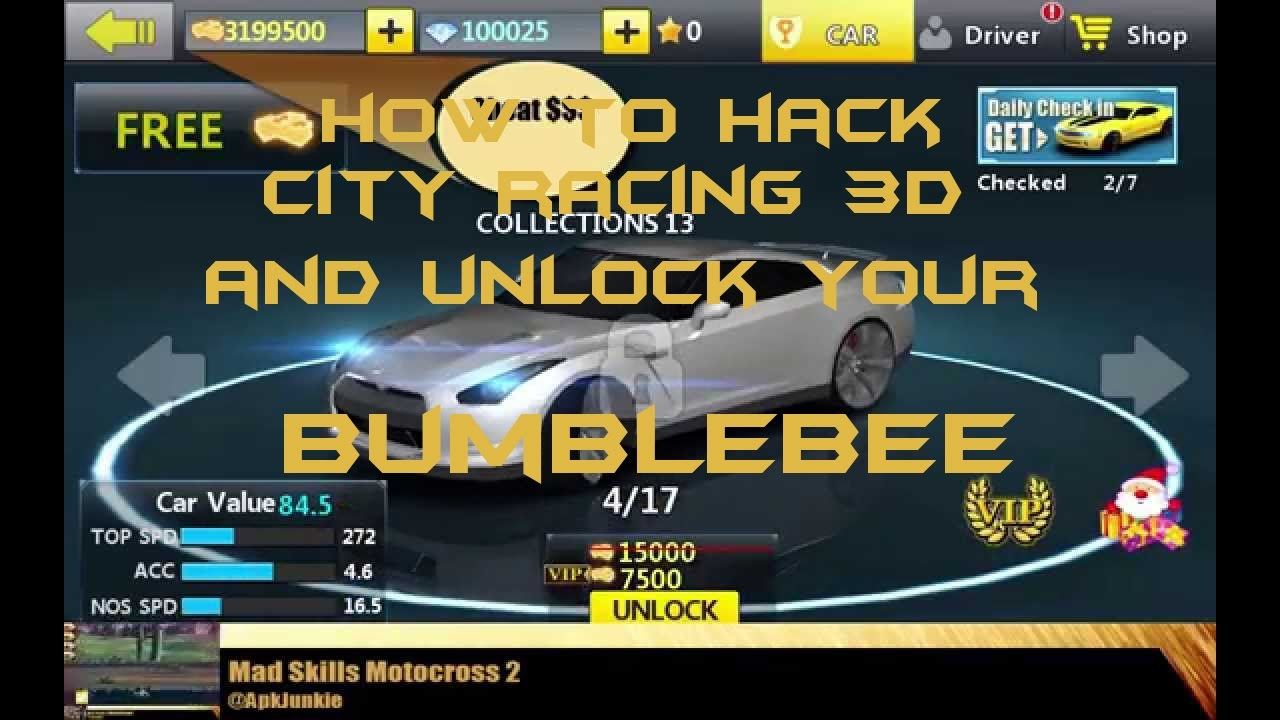 How To Hack City Racing And Unlock Your Blebee