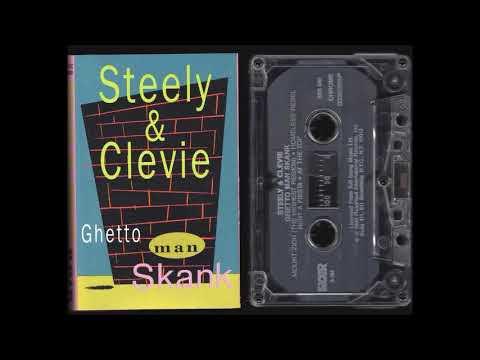 Steely & Clevie - Ghetto Man Scank - Full Album Cassette Rip - 1990 - Reggae Instrumental