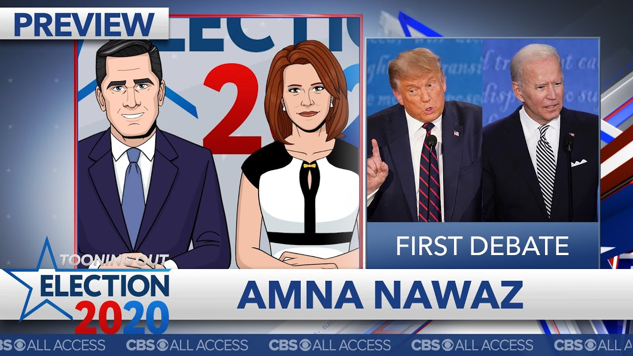 Presidential Debate Night 1: Trump treats Biden like female reporter
