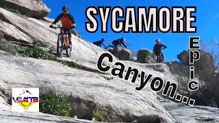Mountain biking at Sycamore Canyon