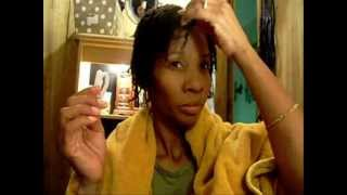 #Xl 4B hair. 4 weeks after Keratin Treatment. Easy to manage hairstyle .wmv