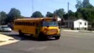 Passing Stopped School Bus -- Forsyth County NC!