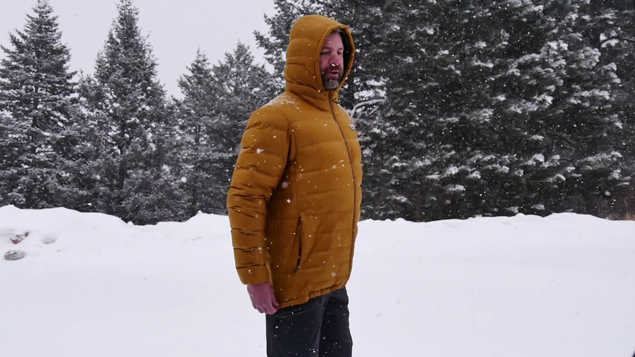 Patagonia Hi Loft Down Hoody Review Sean Sewell Of